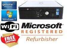 Dell Optiplex 780 SFF Core 2 Duo 3.0 Ghz 4GB 160GB Windows  7 Pro Wifi