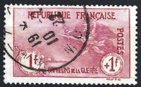 "FRANCE STAMP TIMBRE N° 154 "" ORPHELINS 1F+1F LA MARSEILLAISE "" OBLITERE TTB P277"