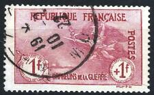 "FRANCE STAMP TIMBRE N° 154 "" ORPHELINS 1F+1F LA MARSEILLAISE "" OBLITERE TTB P277"