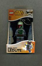 Lego--LEDLITE -BOBA FETT - Star Wars -Taschenlampe-Schlüsselanhänger- Im Blister