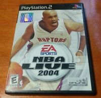 NBA Live 2004 Sony PlayStation 2 PS2 EA Sports Electronic Arts Basketball