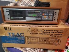 New ListingTeac V-95Rx Stereo Cassette Deck with Remote Control Mint