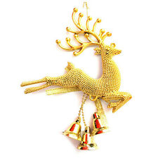 New Christmas Tree ornament deer Chital Hanging Xmas Baubles Party decor UK