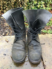 a1923 / adiciannoveventitre / augusta tall military boots - stamped size 8
