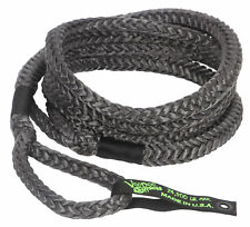 3/4 x 20 Voodoo Offroad BLACK RECOVERY ROPE 24,500 lb 38% stretch KINETIC ENERGY