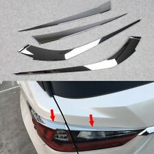Chrome Taillight Rear Light Cover Molding Trim for 2016-17 Lexus RX350 RX450h