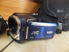 JVC Everio GZ-MG330AEK 30 Go Disque dur Caméscope Zoom Optique 35x Bleu HYB