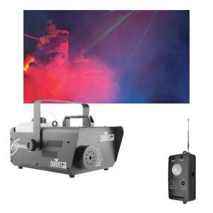 Chauvet DJ Lighting Hurricane 1600 Compact Fog Machine & Motion Sensor Trigger