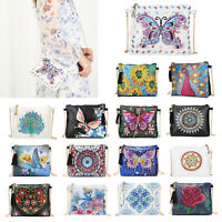 DIY Special Shape Diamond Painting Crossbody Handbag Purse Bag Shoulder Bag
