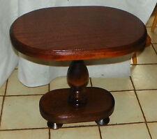 Mahogany Oval Lamp Table / Side table  (BM-T457)