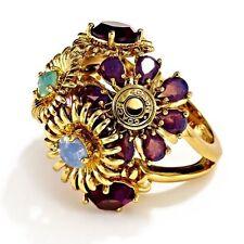 TONY DUQUETTE COACH Bouquet Ring Size 6 NWT