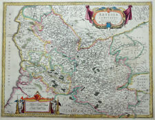 MERCATOR HONDIUS FRANKREICH ARTESIA COMITATUS ARTOIS ARRAS CALAIS LILLE 1633