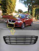 Para VW Touran 2007-2010 Parachoques Delantero Bajo Center Rejilla Borde