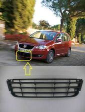 NEW VW TOURAN FRONT BUMPER LOWER CENTER GRILLE  TRIM BEZEL  2007 - 2010