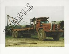 1960s INTERNATIONAL Model F-230-D/F-250-D OILFIELD Truck 8x10 Glossy COLOR Photo