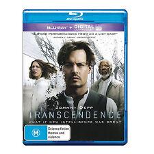 TRANSCENDENCE New Ultraviolet Blu-Ray JOHNNY DEPP ***