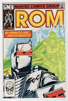 Rom #37 (Dec 1982, Marvel) [Spaceknight] Bill Mantlo Sal Buscema X