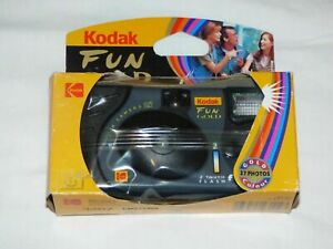 Kodak Fun Gold with flash disposable camera sealed in pack