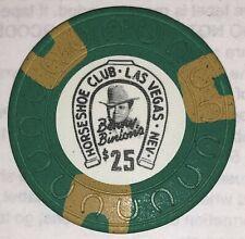 Binions Horseshoe $25 Obsolete horseshoe mold casino chip