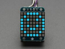 Adafruit MINI 8x8 LED Matrix con I2C Zaino-Blu [ADA959]