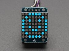 Adafruit Mini 8x8 LED Matrix w/I2C Backpack - Blue [ADA959]