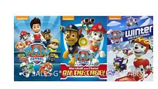 PAW Patrol Nickelodeon Nick Jr Educational Series ~ NEW 3 MOVIE DVD Collection