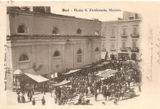 BARI  -  Piazza S. Ferdinando.  Mercato.