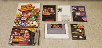 Super Mario RPG: Legend of the Seven Stars Super Nintendo SNES CIB Complete lot!