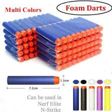 100-500 Gun Soft Refill Bullets Darts Round Head Blasters For Nerf N-Strike Toys