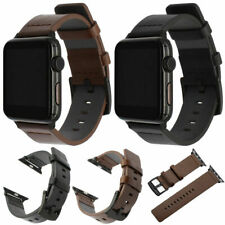 Replacement Genuine Leather Watch Strap Band for Apple Watch Series 5/4/3 /2 /1