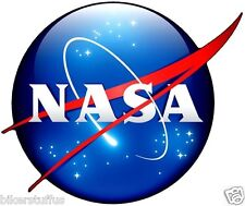 NASA MEATBALL LOGO BUMPER STICKER HELMET STICKER LAPTOP STICKER