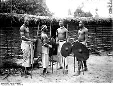 "German East Africa Burundi Rwanda Tanzania Kondoa Irangi Ufiome 1906 5x4"" Photo"