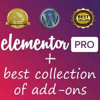 Elementor PRO + 25 Premium Plugins + Templates - WordPress Plugin - Updated