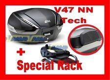 MOTO GUZZI NORGE 850-1200 VALIGIA BAULETTO V47NN TECH + TELAIO SR210 + SPALLIERA