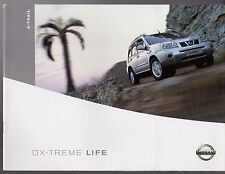 Nissan X-Trail 2003-04 UK Market Sales Brochure T-Spec SVE Sport SE