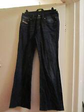 Dark Blue Stretch Bootcut Diesel Ronhar Jeans in Size 28 in. - L30 / Size 8