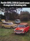 Austin 1100 Mk II, 1300 & Countryman Original UK Sales Brochure Pub. No. 2717