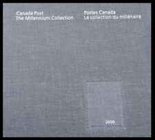 Canada Stamps - 1999-2000, The Millennium Collection Hardbound Book #1818-1834