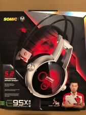 SOMIC VC-E95X USB Real 5.2 Channel Surround Sound Gaming Headset FAST FREE SHIP