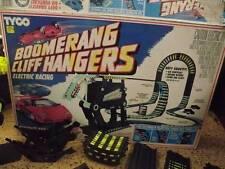 Rare Tyco Cliffhangers Boomerang Race Set No Cars Uses Slot Cars