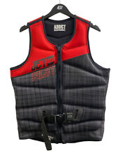 Jetpilot Addict PFD Life Jacket 50 Reversible Black / Red (50/type 2)