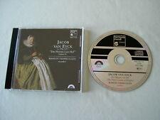 """JACOB VAN EYCK """"Der Fluyten Lust-Hof"""" (Volume II) Marion Verbruggen CD album"""