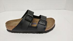 Birkenstock Arizona Birko-Flor Sandals, Black, Women's 5 M (EU 36)