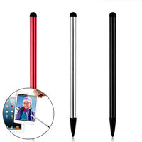 2Pcs/lot Capacitive Touch Screen Stylus Pen For Phone Tablet Metal Stylus Pencil