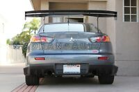 CARBON VOLTEX TYPE-5 STYLE GT WING REAR SPOILER 1600MM FOR MITSUBISHI EVO 10 X
