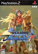 Used PS2 Wild Arms: Alter Code F SONY PLAYSTATION 2 JAPAN IMPORT