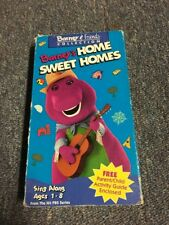 BARNEY FRIENDS~HOME SWEET HOMES~VHS VIDEO