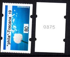 """23.8.2019, postfr. **, AWZ,ATM, 80 C- ,""""phila - Toscana 19""""; Nr 0375"""