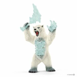 Schleich Eldrador Creatures - Blizzard Bear With Weapon 42510