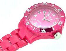 New BOXX Deep Pink Plastic Nurse Fob Watch